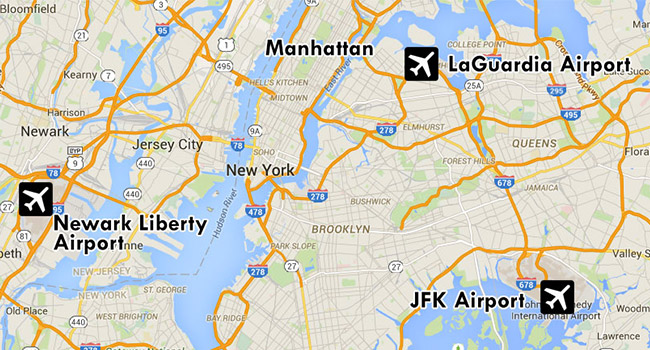 The Airport Location