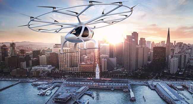 Electric Passenger Drone or Air Taxis