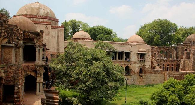 Hauz Khas Village and Paharganj, Delhi