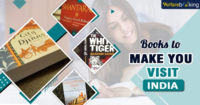 Books to make you Book Flights to India